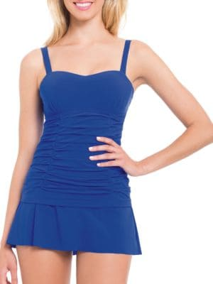 Origami Ruched Underwire Tankini by Profile By Gottex
