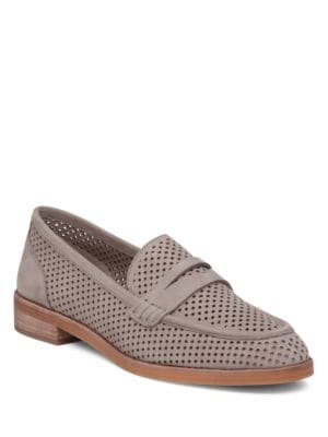 Kanta Perforated Loafers by Vince Camuto