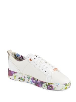 Barrica Leather Sneakers by Ted Baker London
