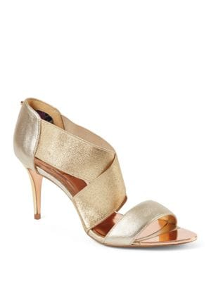 Leniya Crisscross Strap Leather Sandals by Ted Baker London