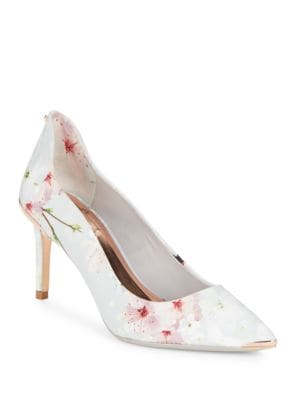 Buy Vyixin Floral Printed Pumps by Ted Baker London online