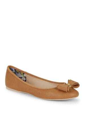 Immet Faux Leather Flats by Ted Baker London