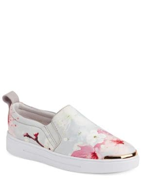 Tancey Floral Slip-On Sneakers by Ted Baker London