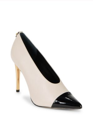 Saydee Cap-Toe Slip-On Pumps by Calvin Klein