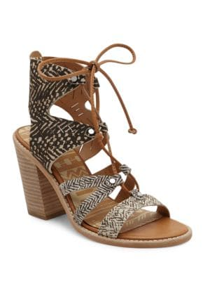 Luci Leather Sandals by Dolce Vita