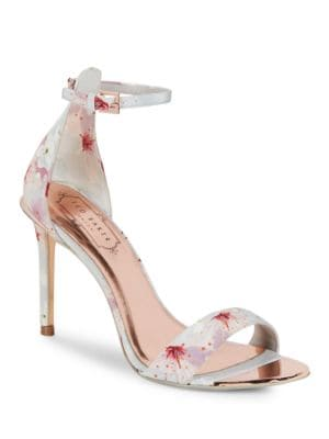 Charv Floral Heeled Sandals by Ted Baker London