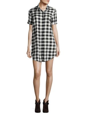 Alexia Plaid Shirtdress by BB Dakota