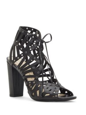 Emagine Leather Sandals by Jessica Simpson