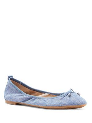 Nalan Round Toe Ballerina Flats by Jessica Simpson