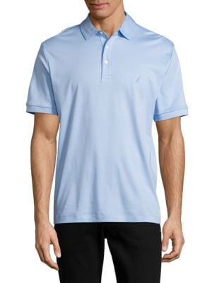 Solid Cotton Polo Shirt...