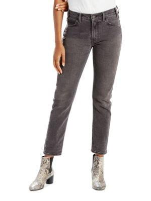 Slim-Fit Five-Pocket Jeans 500035167469