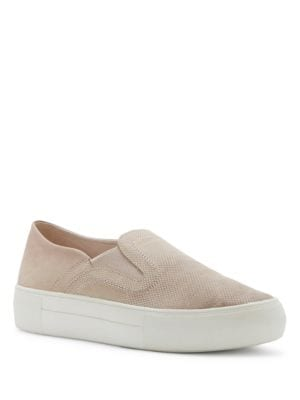 Kyah Leather Slip-On Sneakers by Vince Camuto