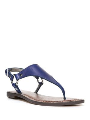 Greta Suede Harness Sandals by Sam Edelman