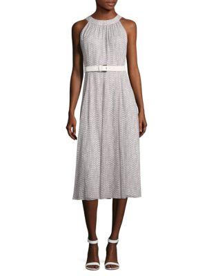 Belted Halter Dress by Tommy Hilfiger
