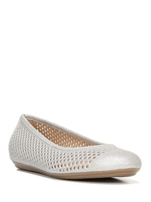Becca Leather Skimmer Ballet Flats by Naturalizer