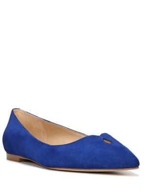Ruby Suede Point Toe Flats by Sam Edelman