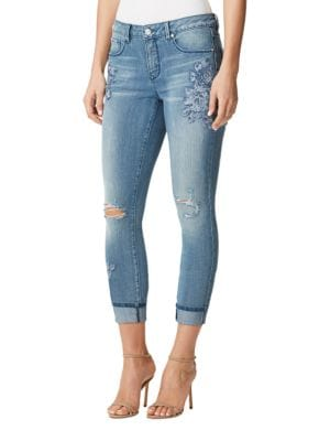 Promise Fit Solution Cropped Jeans by Miraclebody