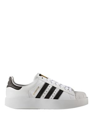 Women's Perforated Platform Sneakers by Adidas