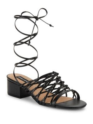 Buy Mya Lace-Up Sandals by Design Lab Lord & Taylor online
