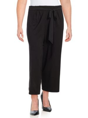 Belted Culottes by joan vass