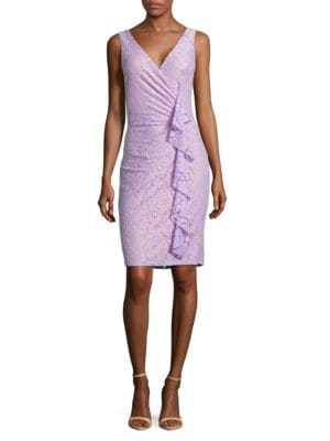 Solid Lace Dress by Ivanka Trump