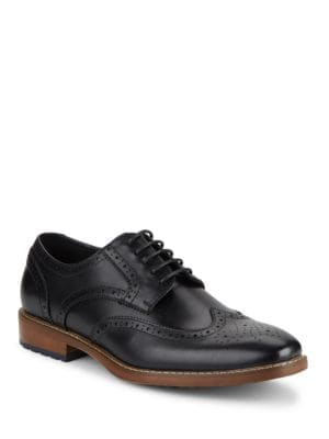 Rupert Wingtip Leather...