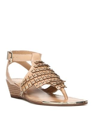 Embellished Balance Wedge Sandals by Fergie