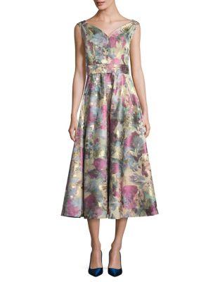 Sleeveless Fit-&-Flare Dress by BARBARA TFANK INC.