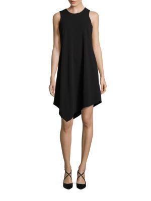 Asymmetric A-Line Dress by Calvin Klein