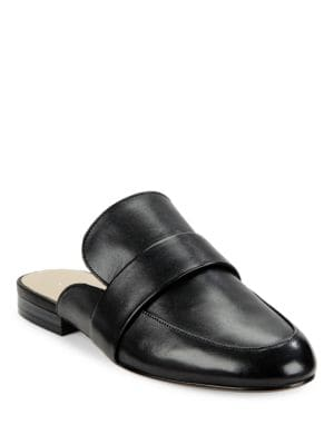Gigi Leather Slides by 424 Fifth