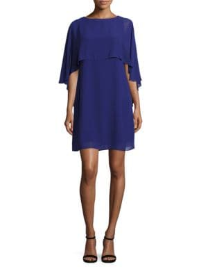 Solid Boatneck Popover Dress by Vince Camuto