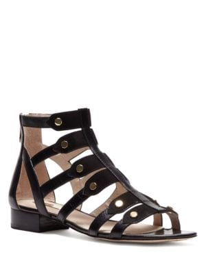 Aria Leather Gladiator Sandals by Louise et Cie