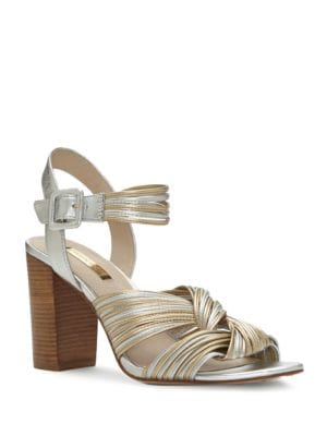 Kamden Leather Strapped Sandals by Louise et Cie