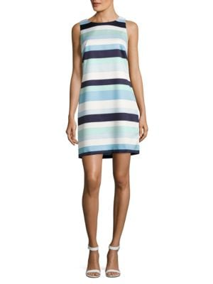 Tricolor Striped Dress by Vince Camuto