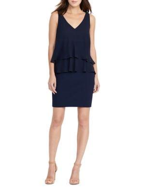 Georgette Tier Dress by Lauren Ralph Lauren