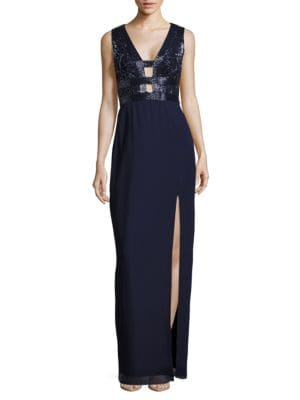 Black Label Evening Gown by Basix