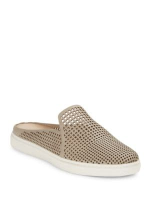 Rina2 Cutout Leather Slide Sneakers by Via Spiga