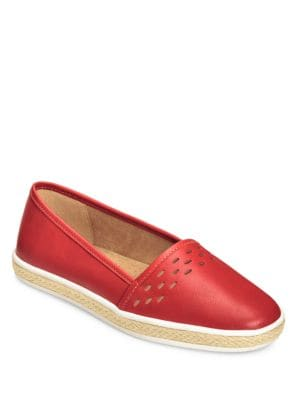 Fun Times Leather Flats by Aerosoles