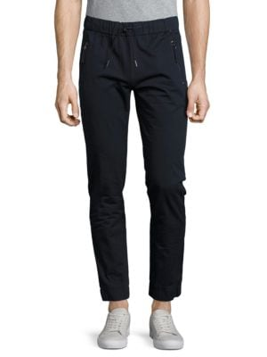 Tapered Cotton Pants...