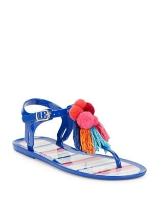 Yellowstone Jelly TStrap Sandals by Kate Spade New York