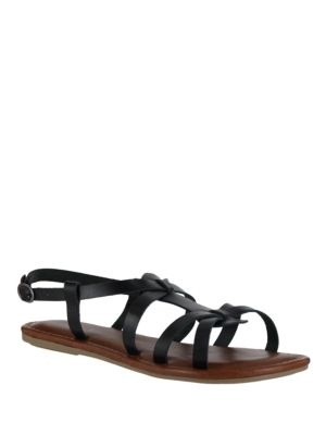 Buttercup Leather Gladiator Sandals by Mia