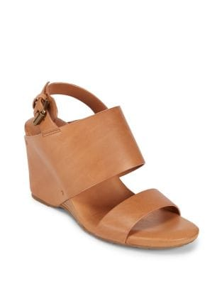 Inka Leather Wedge Sandals by Gentle Souls