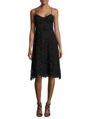 Soft V-Neck Lace Dress by Guess