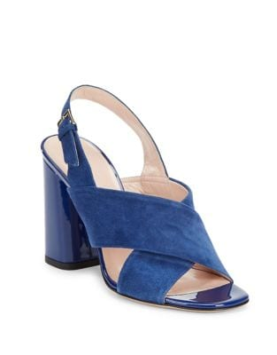Christopher Suede Open-Toe Sandals by Kate Spade New York