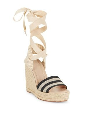 Delano Canvas Espadrille Wedge Sandals by Kate Spade New York