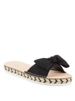 Bow Slide Sandals by Kate Spade New York