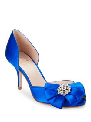 Buy Santarosa Peep Toe Pumps by Kate Spade New York online