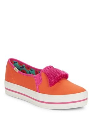Decker Too Textured Slip-on Sneakers by Kate Spade New York