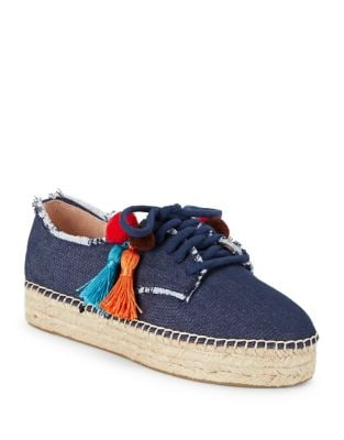Lane Denim Espadrille Sneakers by Kate Spade New York