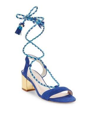 Manor Suede Block Heel Sandals by Kate Spade New York
